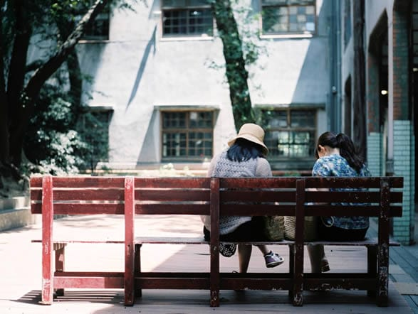 Swapping details - Fuji Pro 400H shot at ISO400. Color negative film in 120 format shot as 6x4.5.