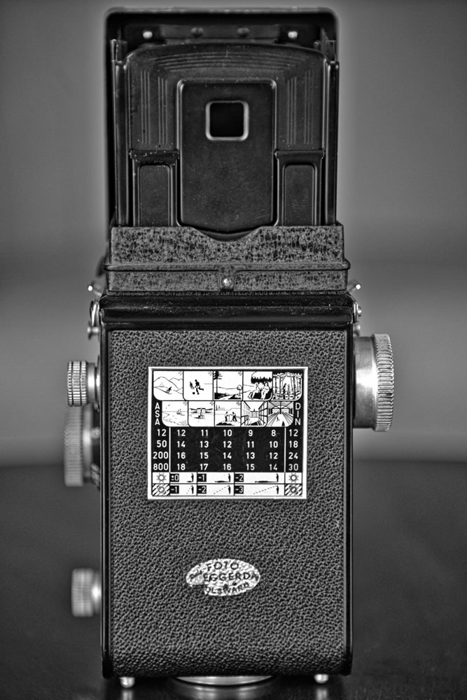 Rolleicord Vb Back