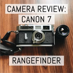 Cover - Review - Canon 7 Rangefinder