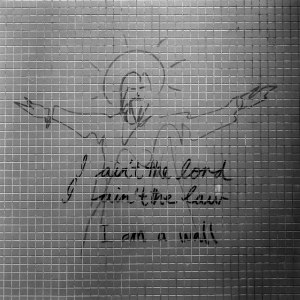 I am a wall - 2016-04-25 - Kodak BW400CN shot at EI 400. Black and white negative in 120 format shot as 6x6.