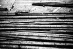 Bamboozled - Eastman Double-X 5222 shot at EI 800. Black and white film in 35mm format. Push processed 1+2:3 stops.