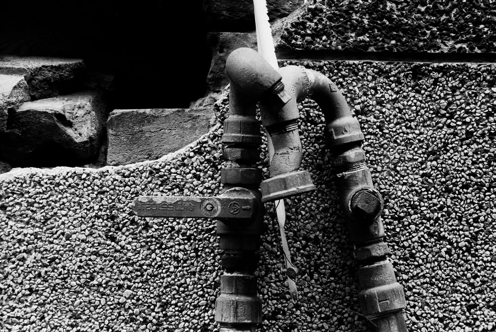 Pipes - Kodak Hawkeye Traffic Surveillance Black and White