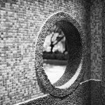 Porthole - Rollei RPX100 shot at EI 100. black and white negative film in 120 format shot as 6x6.