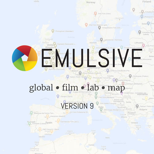 The EMULSIVE Global Film Lab Map (v9) | EMULSIVE
