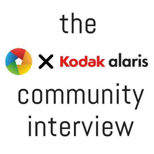EMULSIVE x Kodak Alaris Communit Interview 2016