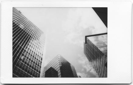 Fuji Instax Mini Monochrome - Central, Hong Kong Island