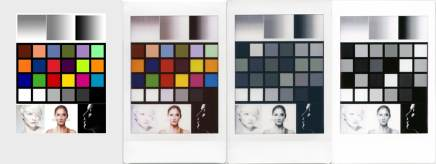 Fuji Instax Mini Monochrome and Color - Test Matrix