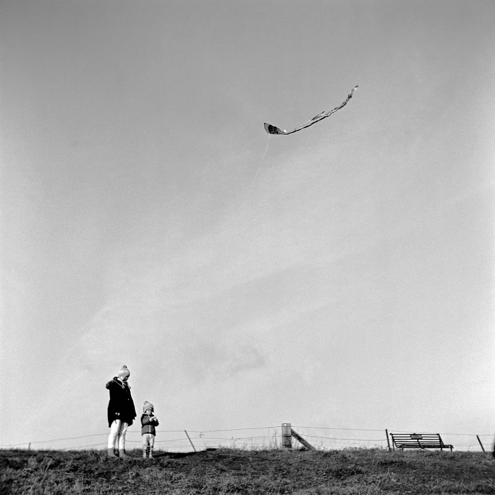 Matt P - @mparry1234 - This place is the perfect kite flying hill. #FP4Party #BelieveInFilm #FilmPhotography #ilford #postweek