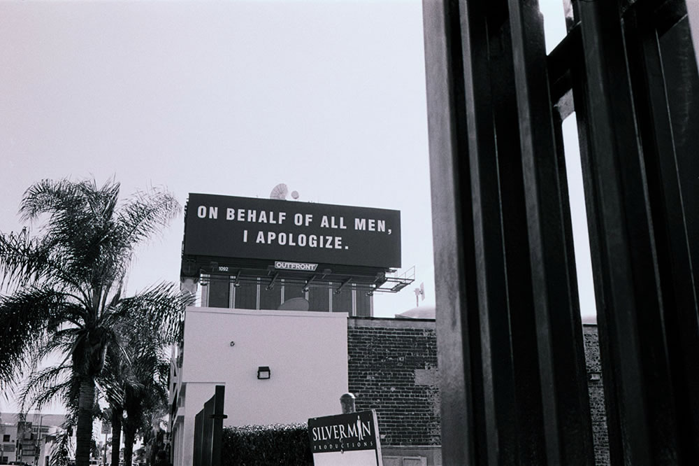 Apologize - From my Los Angeles zine