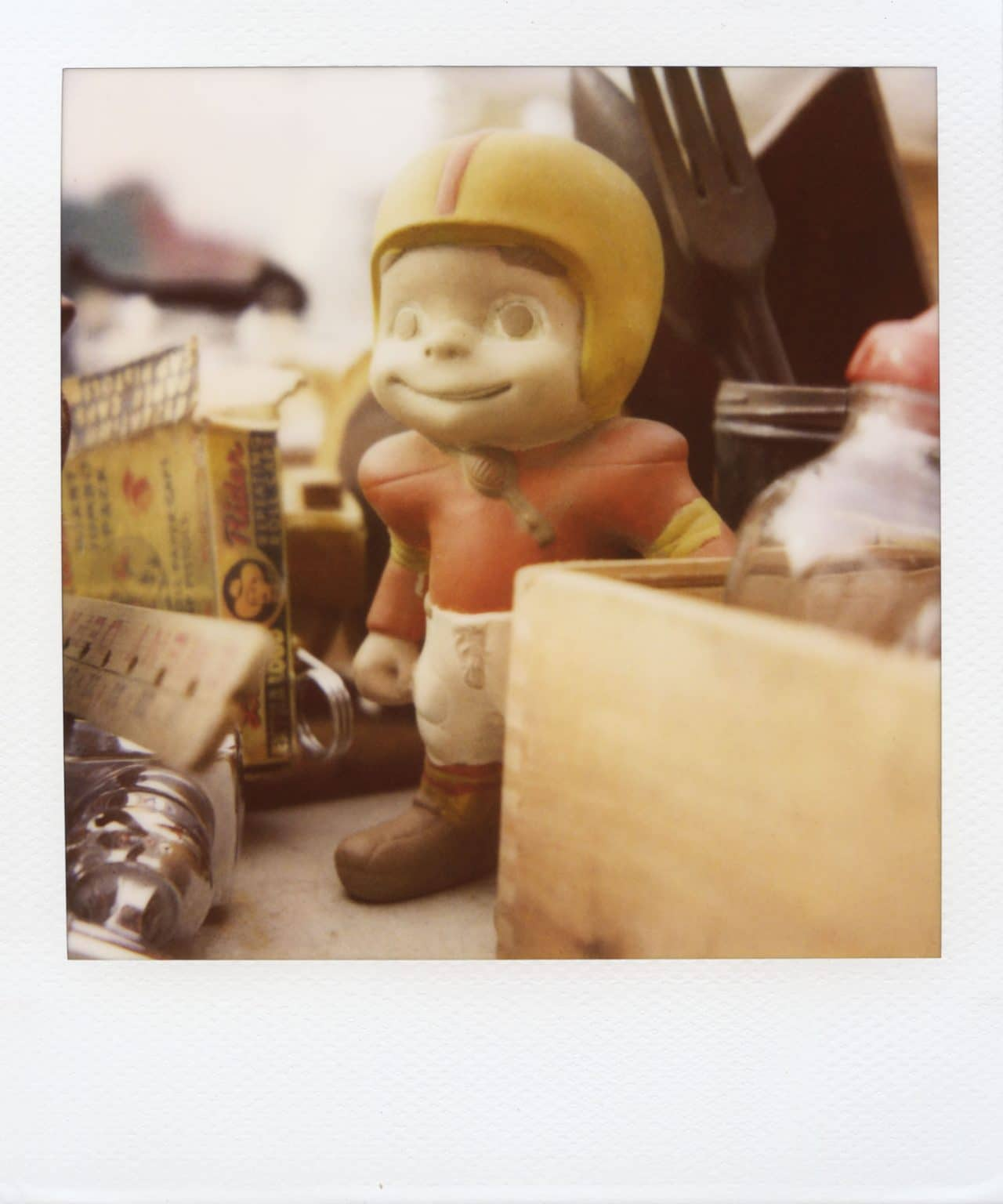 """""""Billy"""" (NYC 2011) - Polaroid SX-70 Alpha 1 Land Camera with expired Polaroid 600 film and ND pack filter"""