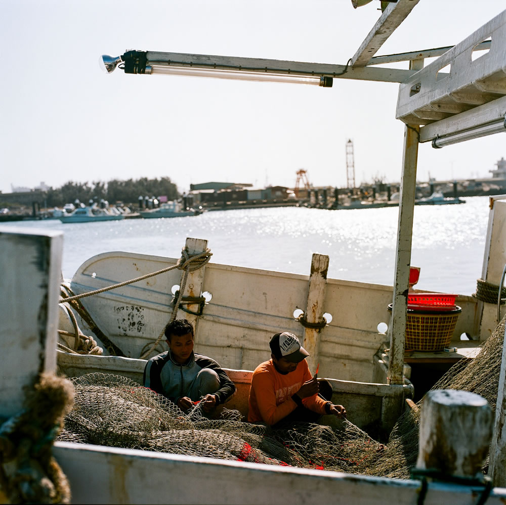 A stitch in time - Shot on Kodak Portra 160NC at EI 160. Color negative film in 120 format shot as 6x6.