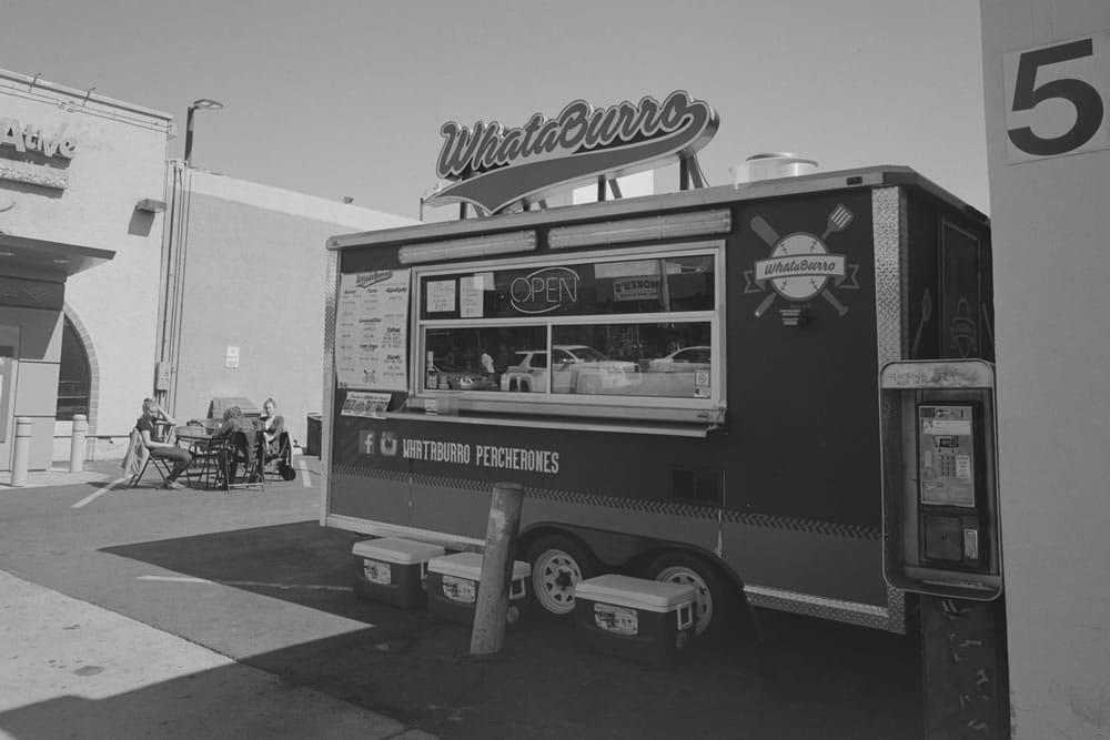 WhataBurro, Mamiya Super 23, 50mm f/6.3, Kodak 400TX