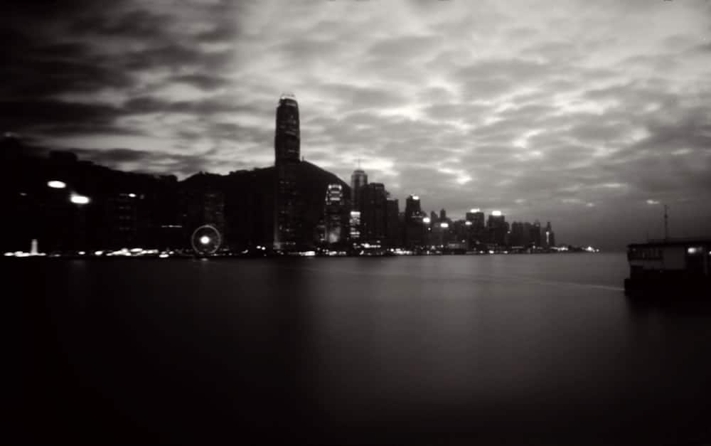 TST to Central view - Fuji Acros 100 - Noon 612