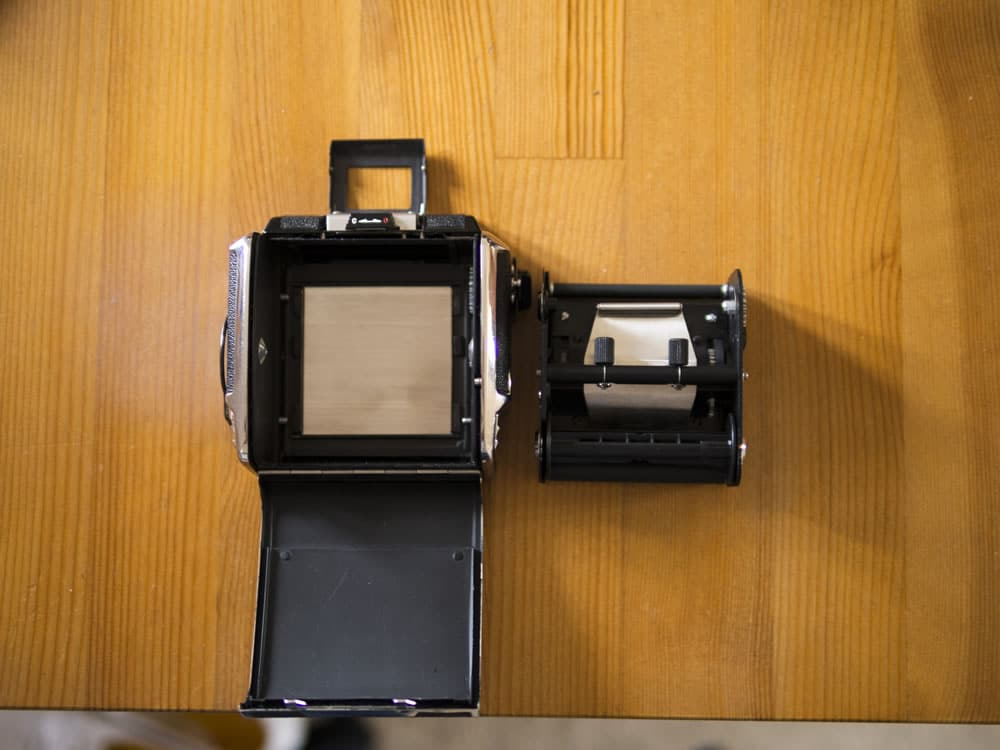 Bronica S2A - Open Film Back