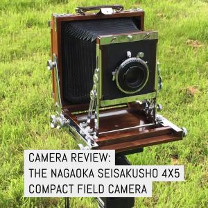 Cover - Camera review - the Nagaoka Seisakusho 4x5 compact field camera