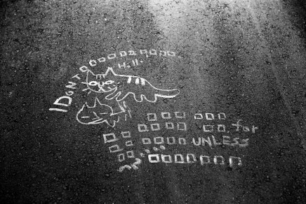 I don't - Shot on Kodak Tri-X 400 at EI 400. Black and white negative film in 35mm format.