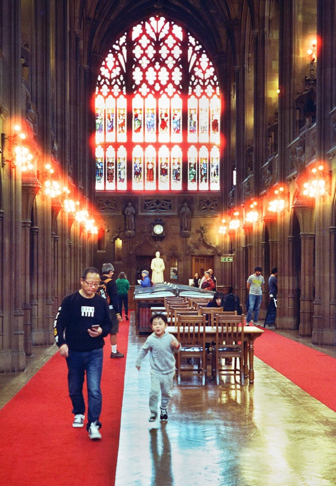 Rylands Library reading room
