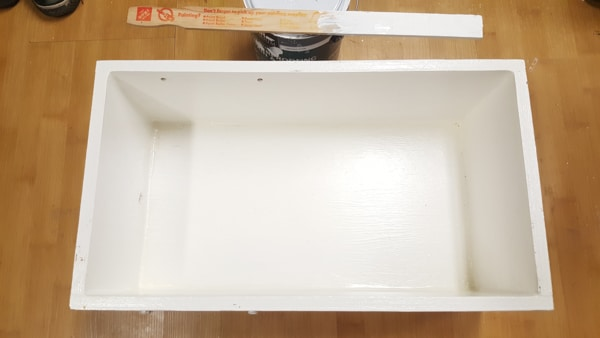 Building a semi-automatic film processor - painting to sealing the water tank