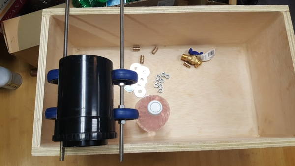 Building a semi-automatic film processor - sizing the roller assembly