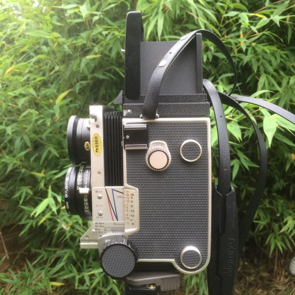 Mamiya C220 Professional TLR - Figure 2 - Left view