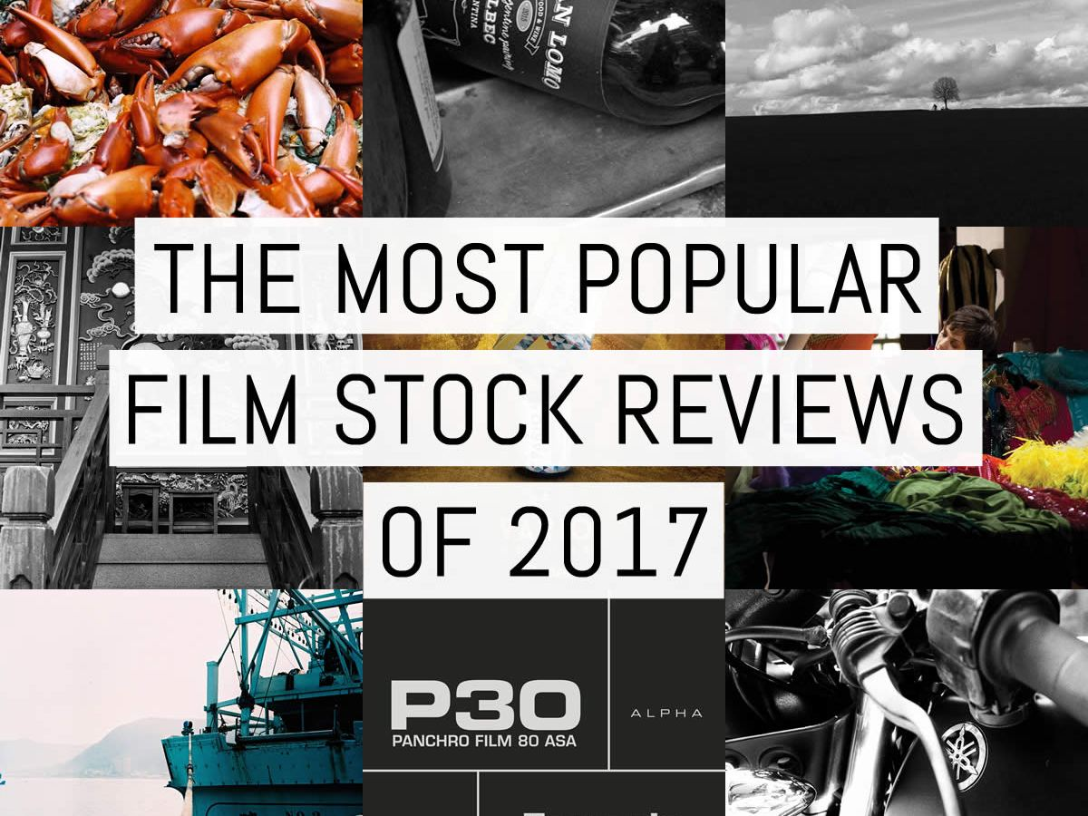 Cover - Most popular film stock reviews 2017