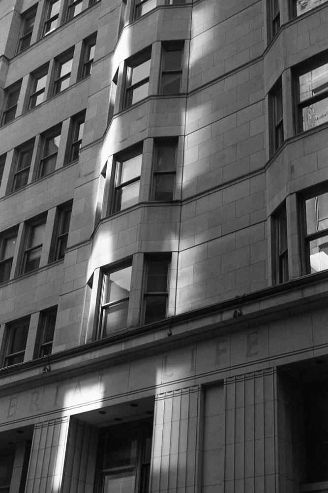 Shot with my Leica IIF, 50mm f/3.5 Elmar and T-MAX 100.