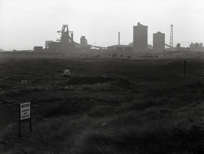 Steel Works - Bronica ETRS. ILFORD HP5 PLUS. 1/250 @ f/16, 150mm lens
