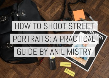 Cover - How To Shoot Street Portraits