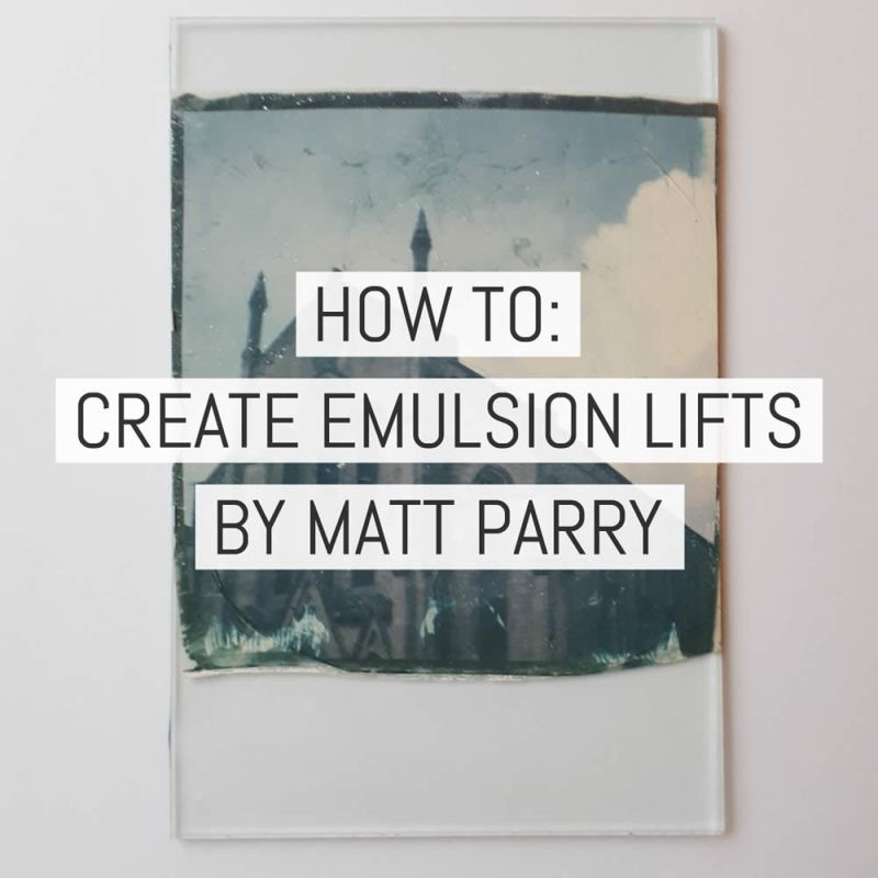 Cover - How to create emulsion lifts