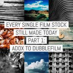 Cover - Every Film Stock Still Made 1- ADOX to dubblefilm