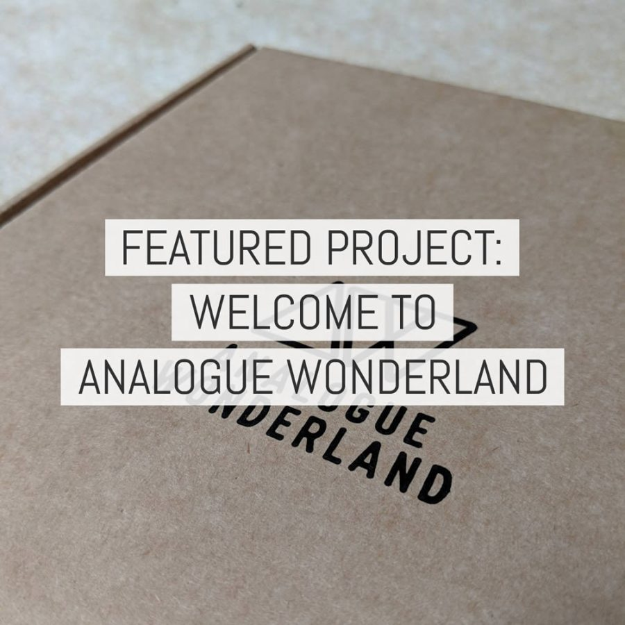 Cover - Welcome to Analogue Wonderland