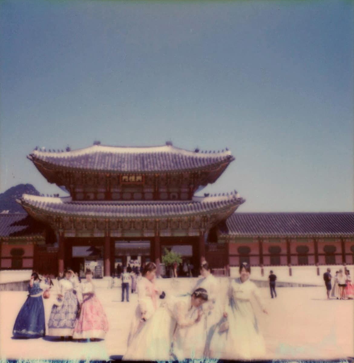 South Korea - Polaroid SX-70 and Impossible Project Film