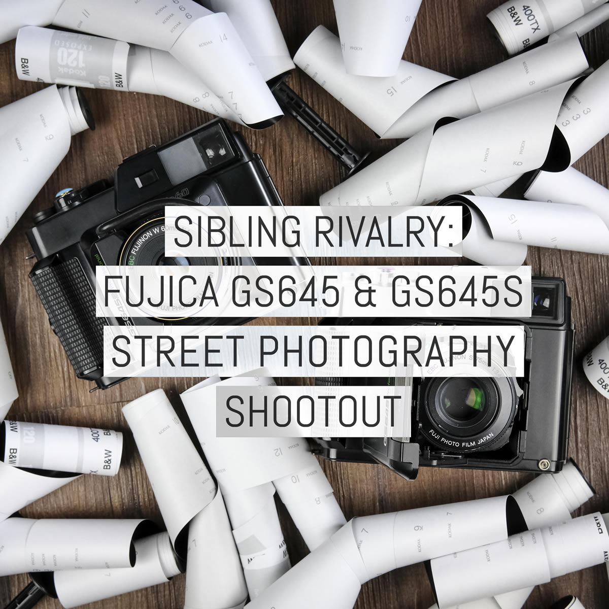 Sibling rivalry: Fujica GS645 & GS645S street photography shootout