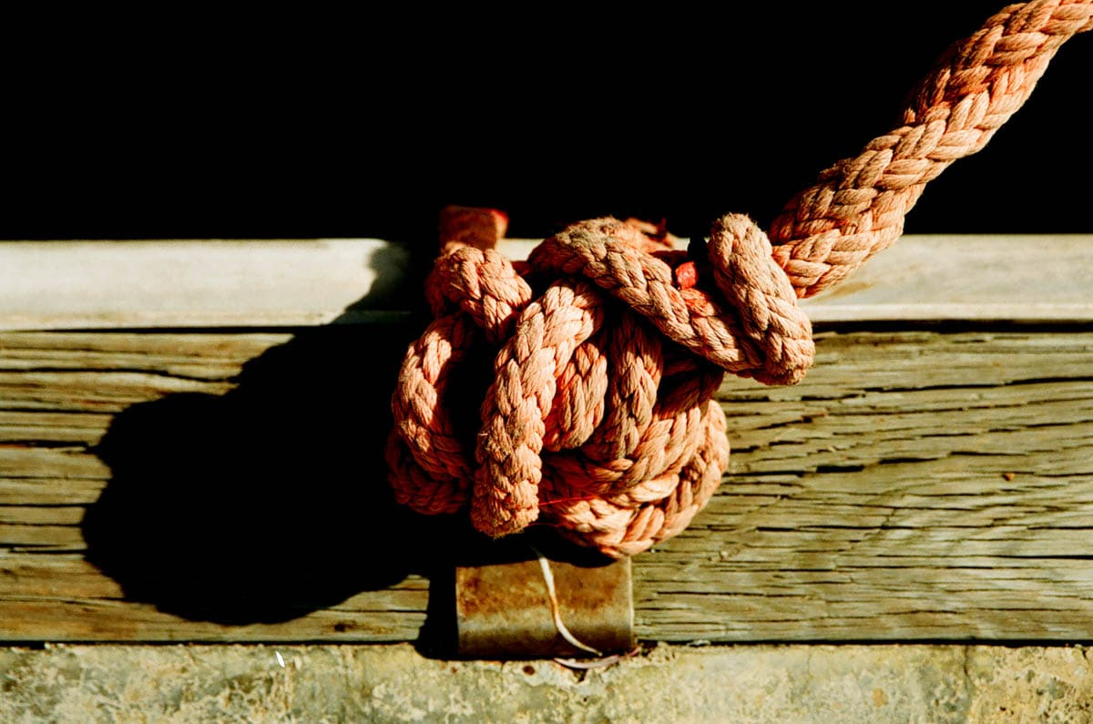 Bound - Shot on Fuji Superia 100 at EI 100. Color negative film in 35mm format.