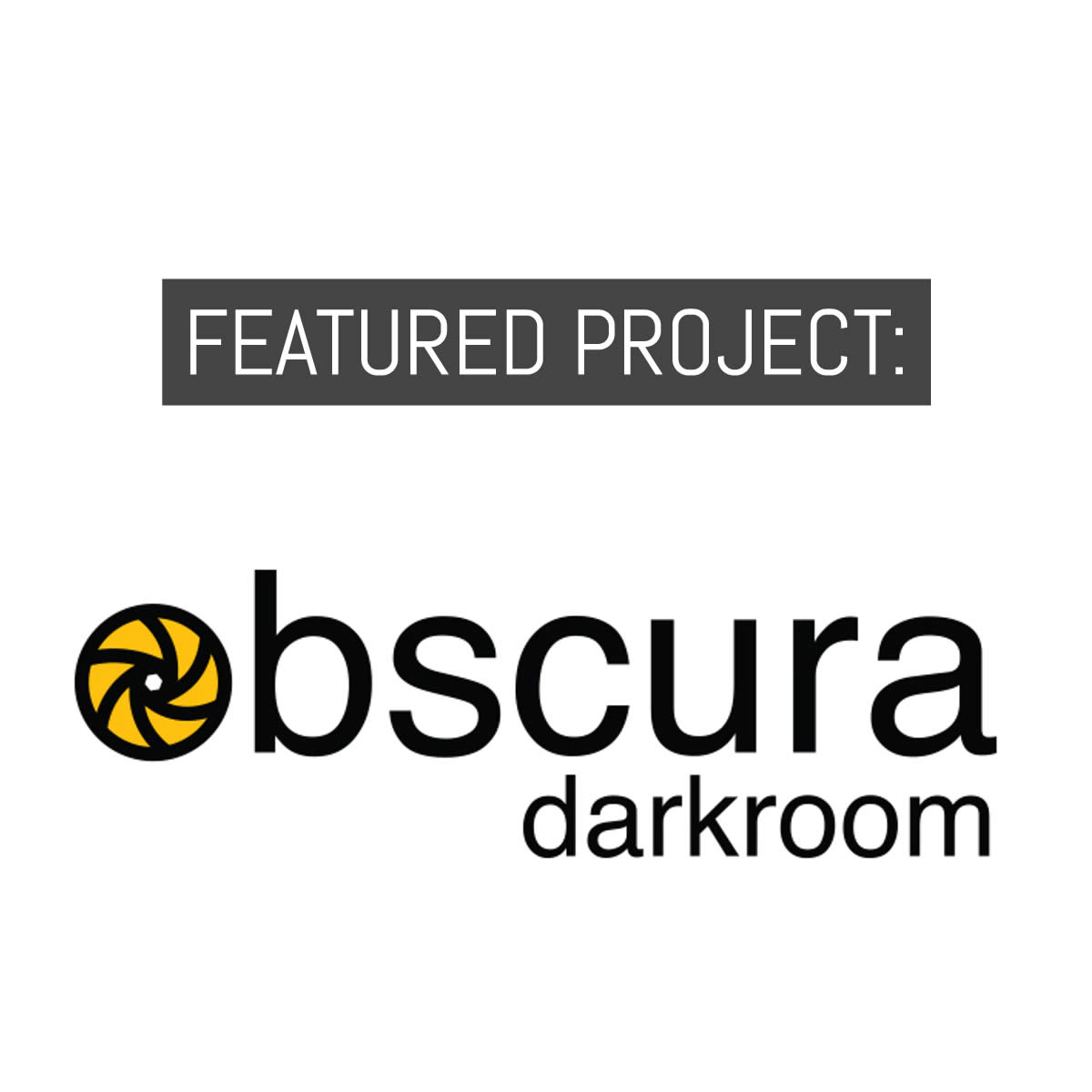 Cover - Featured project - Obscura Darkroom