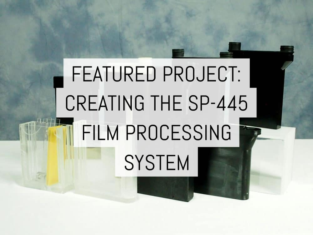 Cover - Featured project- creating the SP-445 film processing system