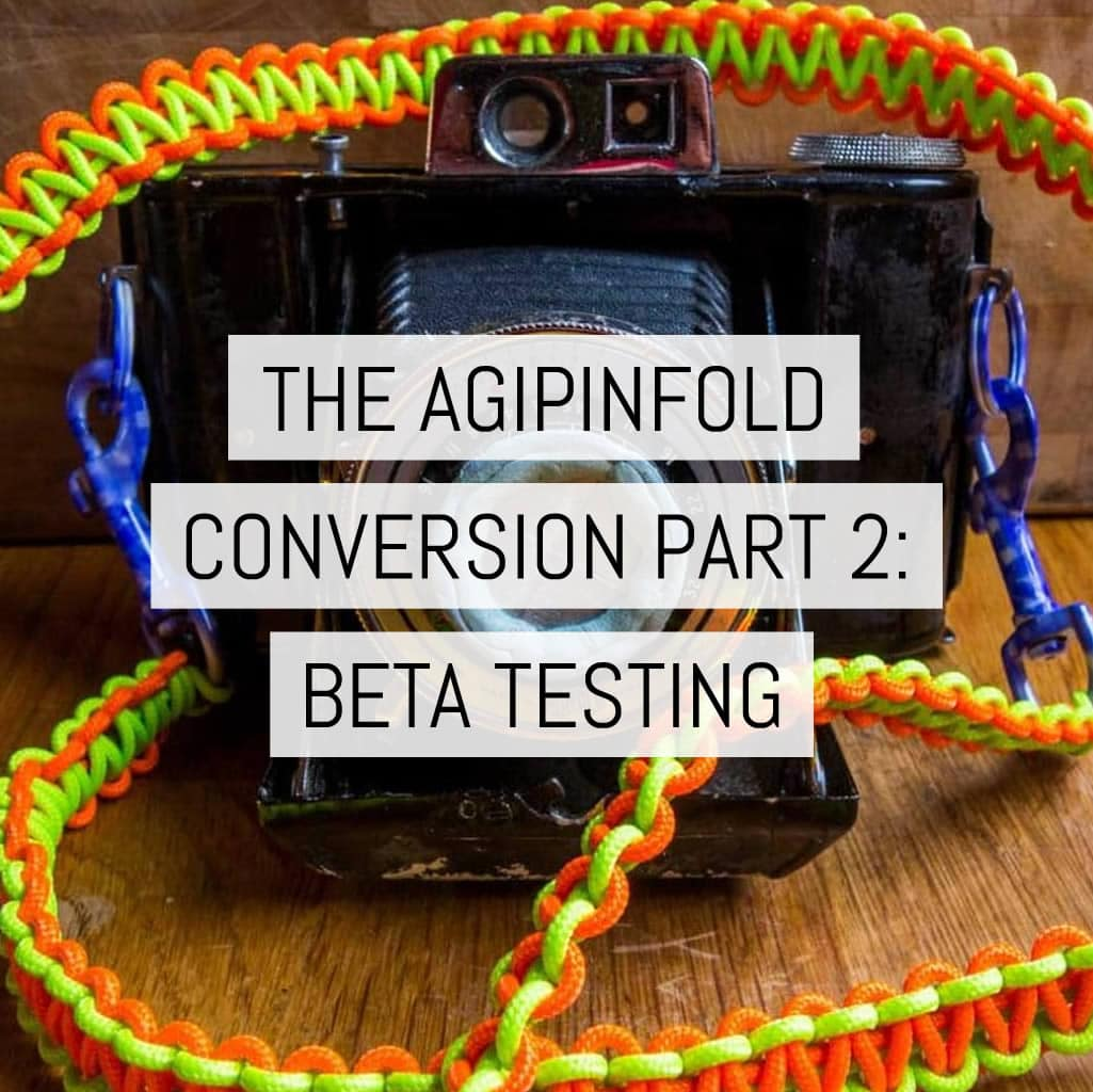 Cover - The AgiPinFold Conversionpart 2 - beta testing
