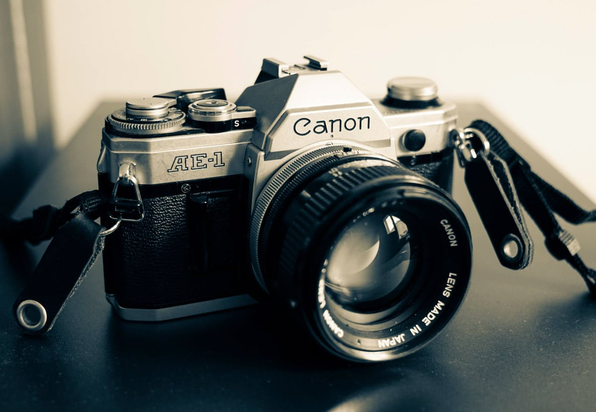 Dad's Canon AE1