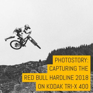 Cover - Capturing Red Bull Hardline 2018 on Kodak Tri-X 400