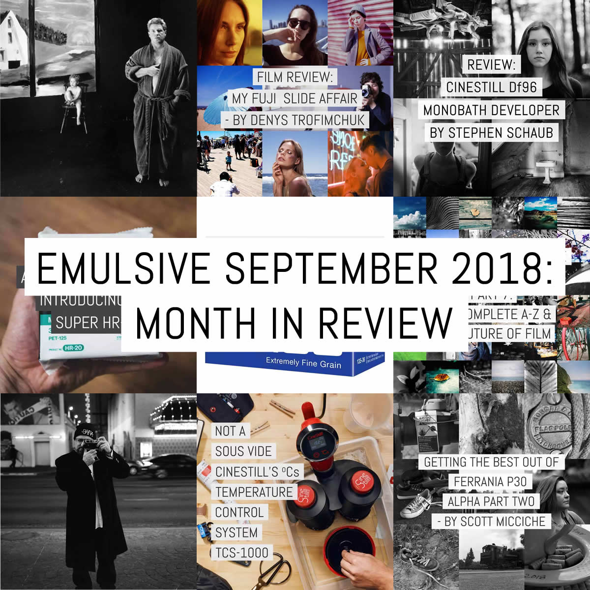 Cover - Month in review - 2018 September