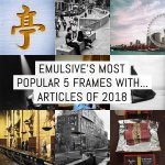 Cover - EMULSIVE's most popular 5 Frames With articles of 2018