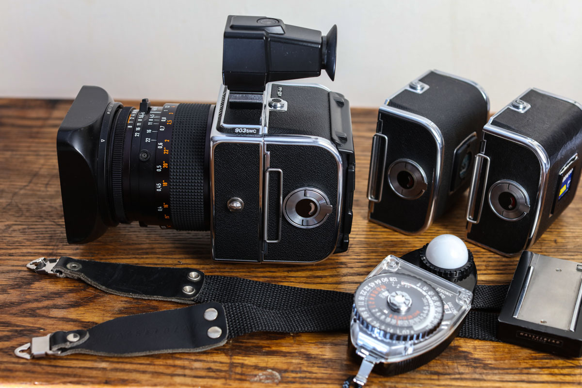 Hasselblad 903 SWC review - My system