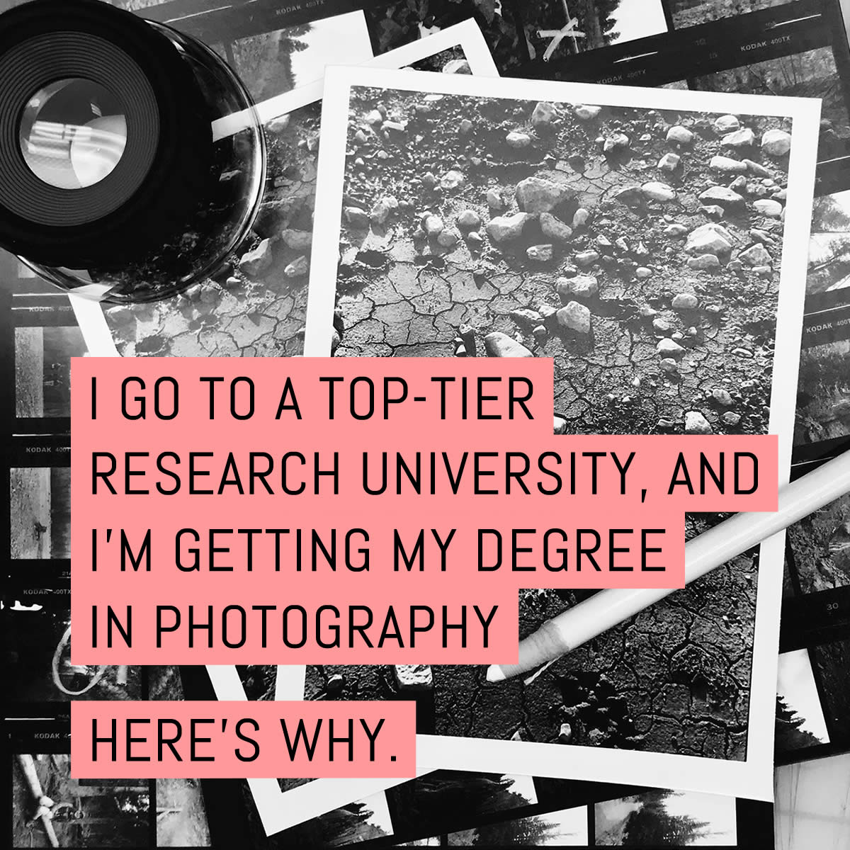 Cover - I go to a top-tier research university, and I'm getting my degree in photography. Here's why.