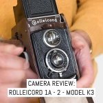 Cover - Camera review- The Rolleicord 1a - 2 - Model K3