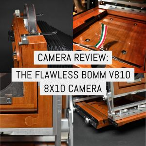 Cover - Camera review- the flawless BOMM V810 8x10 camera