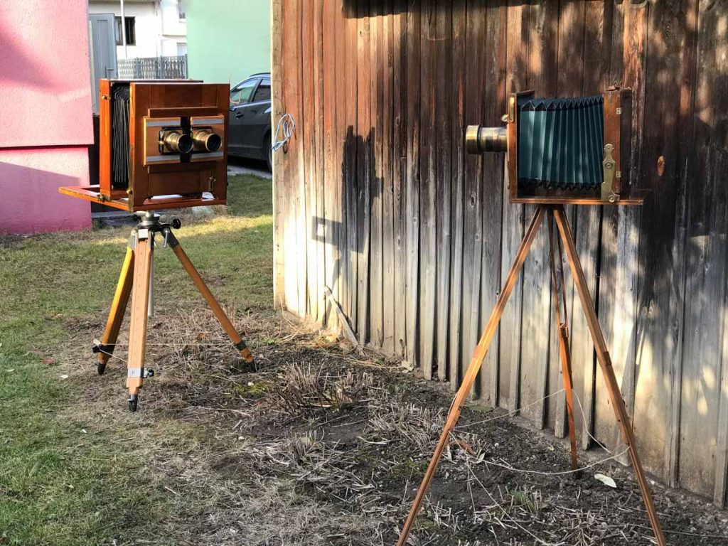 The first stereo wetplate