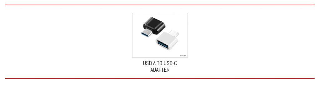 From USB A to USB-C in one step.