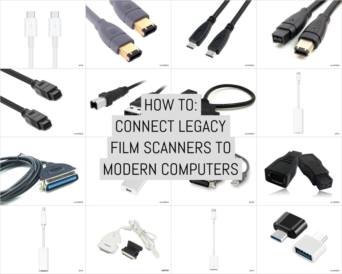 Cover: How to - Connect legacy film scanners to modern computers
