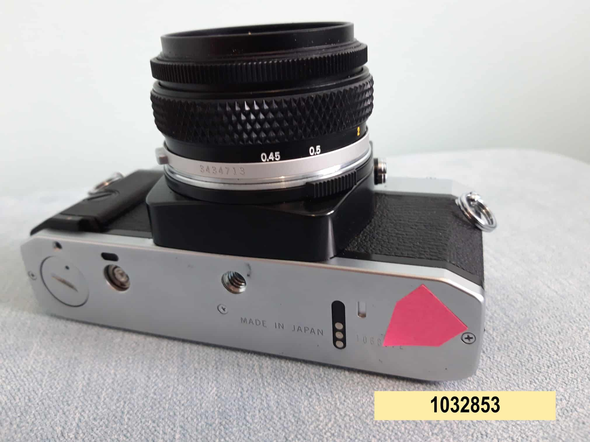 Olympus OM20 + serial number (Source: Avon and Somerset Police)