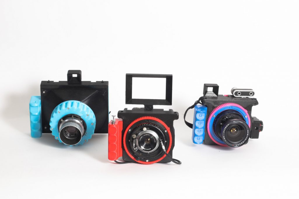 CAMERADACTYL Family - OG 4x5 left and 2x HOMONCULUS 69s middle and right